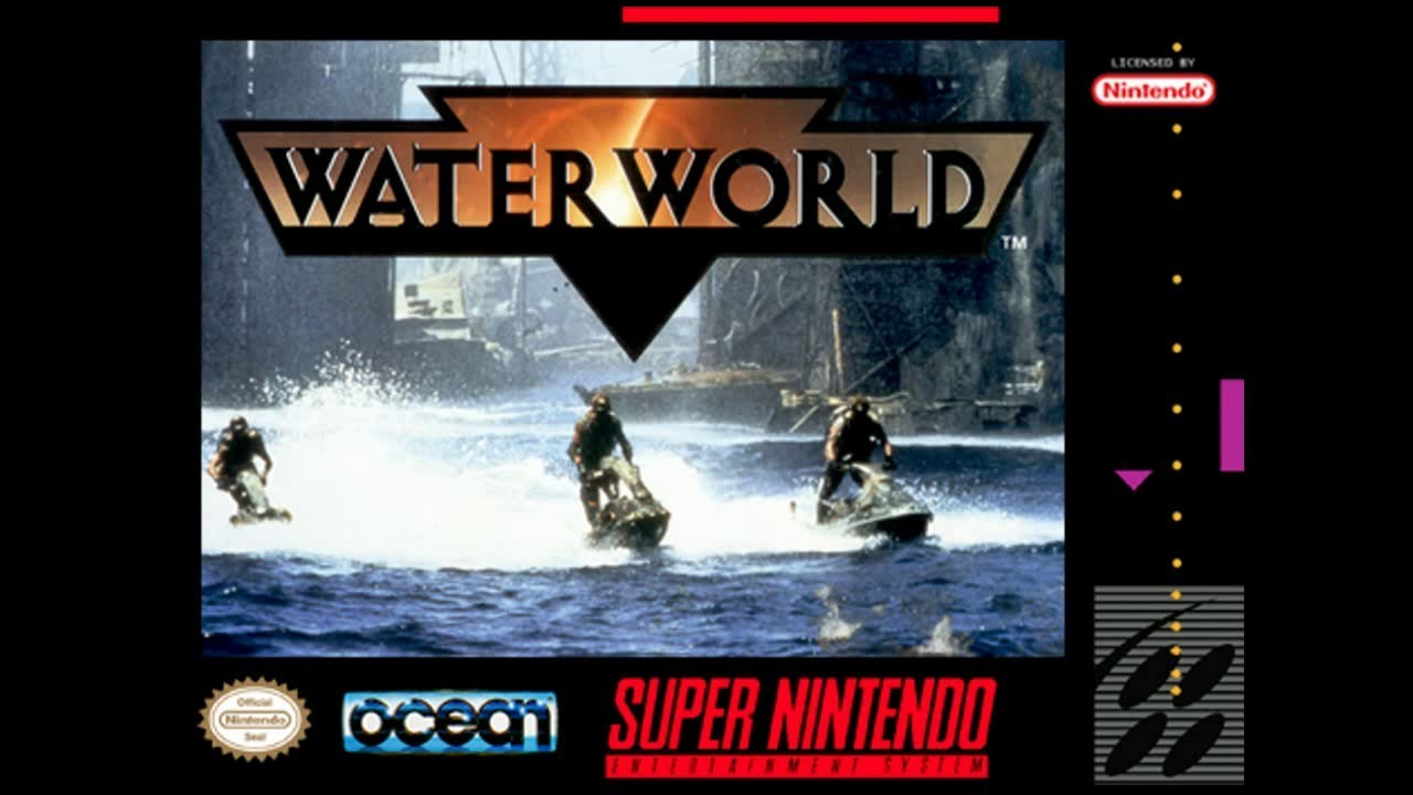 Is Waterworld [SNES] Worth Playing Today? - SNESdrunk