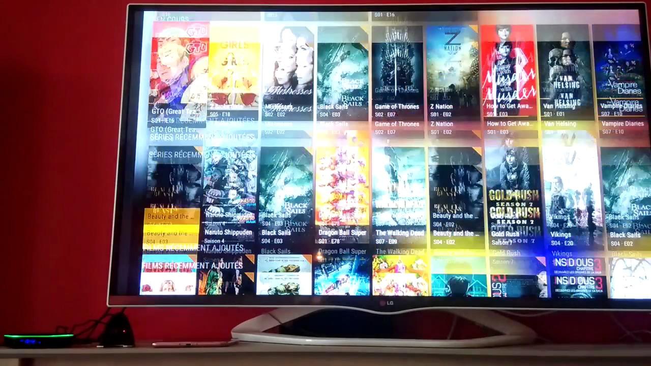 Android TV Leanback Launcher sur Sunvell T95Z Plus