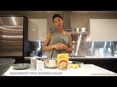 Cranberry Feta Quinoa Salad  Healthy Eating  Nicole Murphy