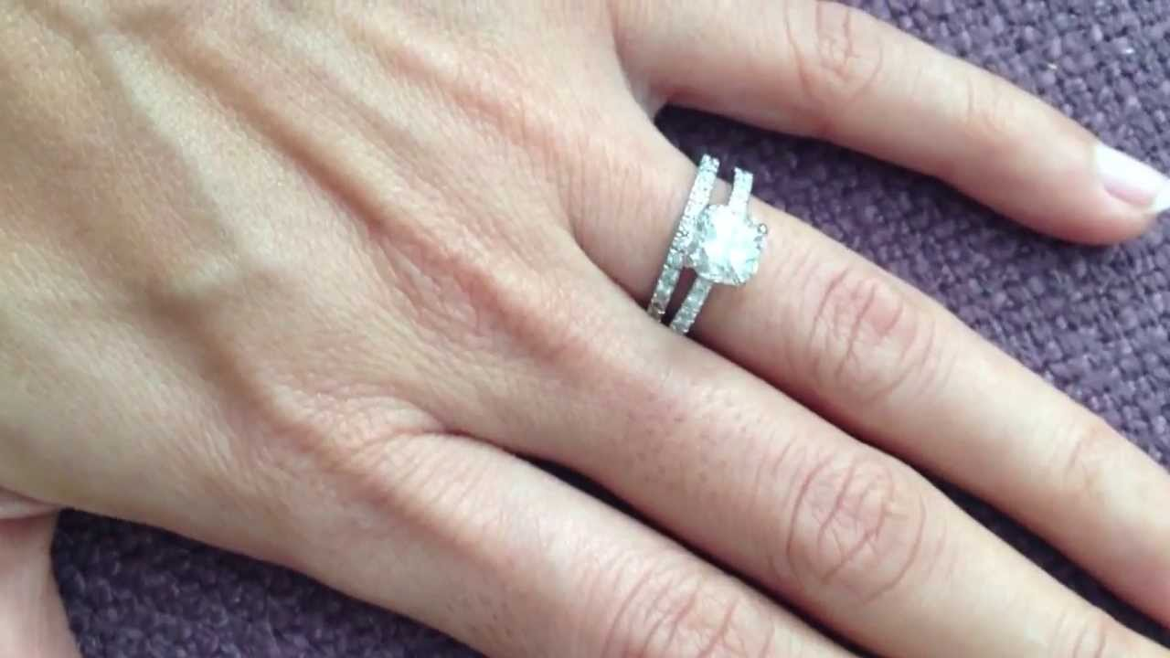 Tiffany Wedding Bands | Tiffany Novo With Novo Wedding Band Youtube