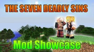 Minecraft Mod Showcase - The Seven Deadly Sins Mod (Nanatsu No Taizai)