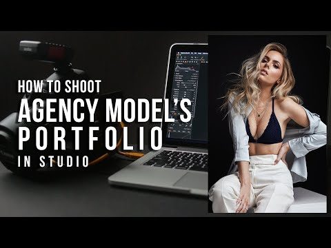 How to Shoot Agency Models in Studio