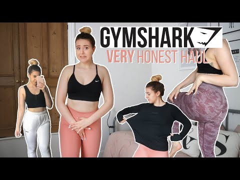 VERY HONEST GYMSHARK TRY ON HAUL 2020 || Size medium/12