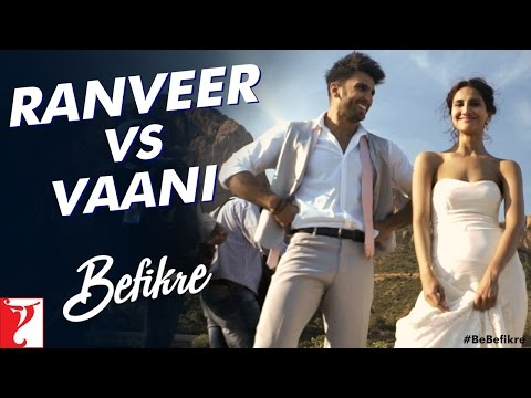 Ranveer vs Vaani | Behind The Scenes |...