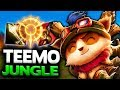 WHO KNEW ON-HIT TEEMO JUNGLE WAS THIS GOOD - The 1v9 Jungle CONQUEROR - League of Legends