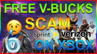 SPRINT OU VERIZON? GRATUIT V-Bucks SCAM sur Fortnite!