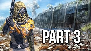 Destiny Gameplay Walkthrough - Part 3 - Red Ghost + Mission 3 (PS4/XB1 1080p HD)