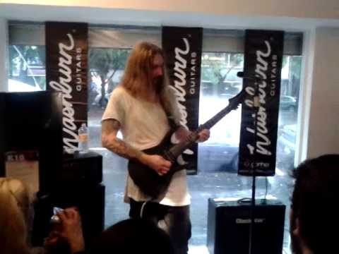Ola Englund-Forever Old in Mexico City Workshops / Clinic tour 2014