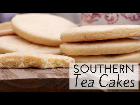 Old-Fashioned Southern Tea Cakes Recipe- Remember these?