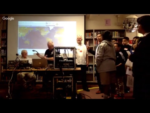 LA Academy and ISS Live Stream