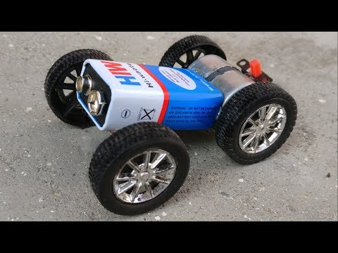 How to Make a Powerful Electric Toy Car at Home - Mini Car