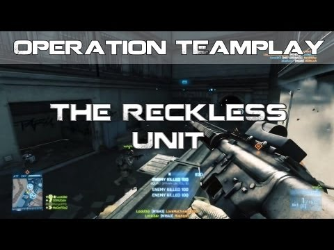 Battlefield 3 Operation Teamplay The Reckless Unit W/ MongolFPS, DCRU Colin & MeOwPl3aZ