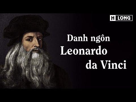 Danh ngôn Leonardo da Vinci
