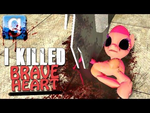 Gmod I KILLED BRAVE HEART (Garry