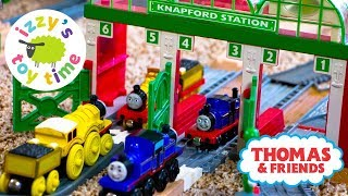 Thomas and Friends | Thomas Train Knapford Station with Trackmaster | Fun Toy Trains