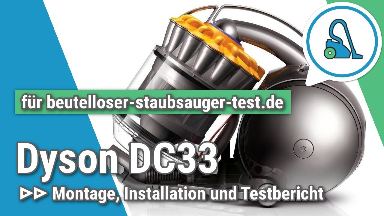 test dyson dc33c orgin und dyson dc37c allergy beutelloser staubsauger youtube. Black Bedroom Furniture Sets. Home Design Ideas