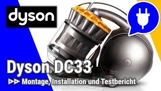 Ausführlicher Test des dyson DC33c Orgin mit Saugtest auf Hartböden...