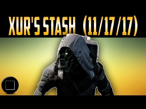 Destiny 2 - Xur's Inventory 11/17/17