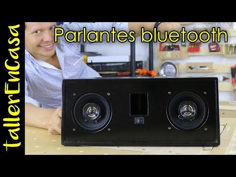 Altavoces bluetooth caseros