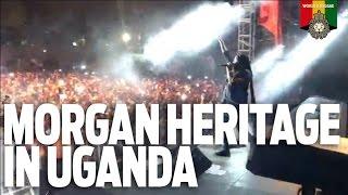 Morgan Heritage live in Kampala, Uganda, April  2017