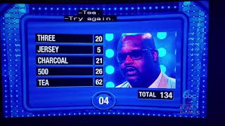 Charles Barkley & Shaq Play Fast Money on Celebrity Family Feud