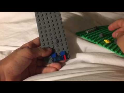 Mini LEGO space base