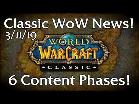 Classic WoW News | Progressive Itemization Confirmed! (3/11/19)