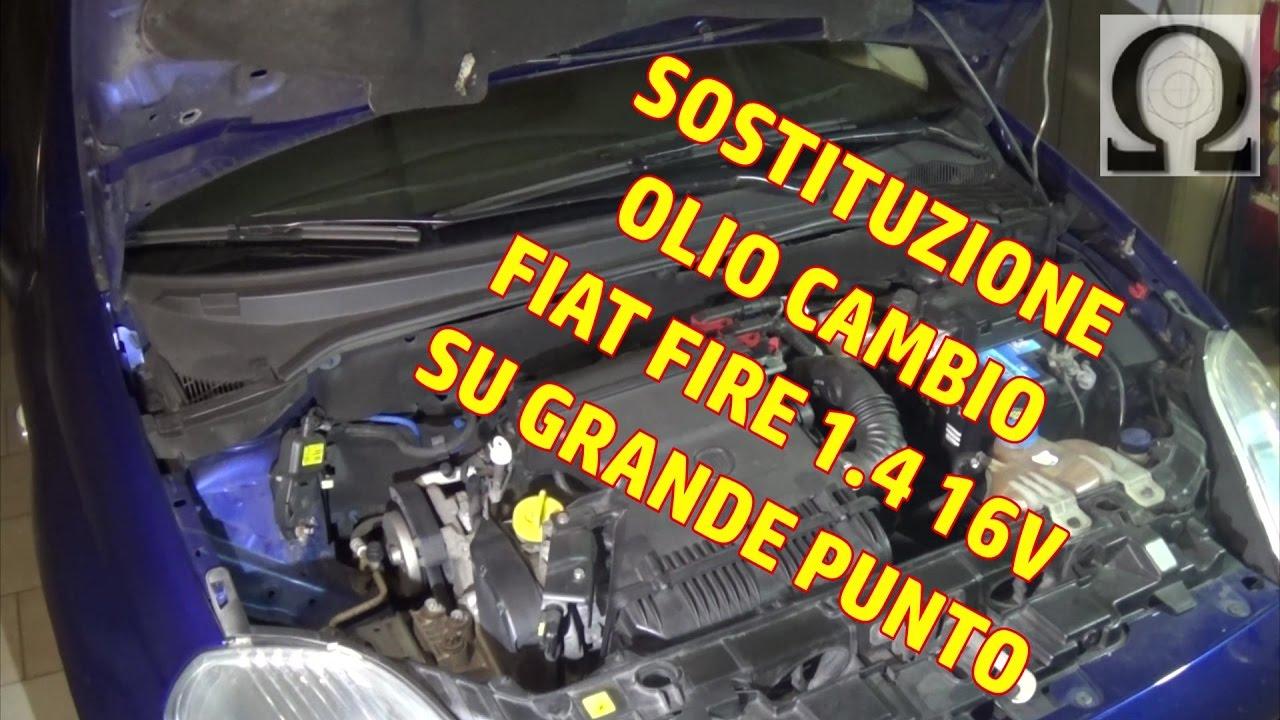 Risolto - Grande Punto 1.3 mjt - Quantità olio motore ...