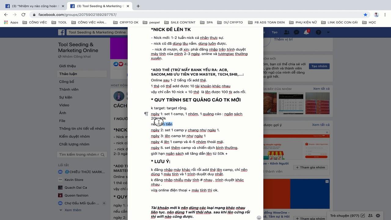 PHẦN 5.1 – Chia Sẻ Kinh Nghiệm Tạo 100 Tài Khoản FB Ads Thủ Công (ai cũng làm được) #025