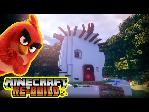 Red Bird House [ Angry Birds Movie 2 ] - Minecraft Re-Build (6)