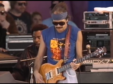 Santana - She's Not There - 11/26/1989 - Watsonville High School Football Field (Official)