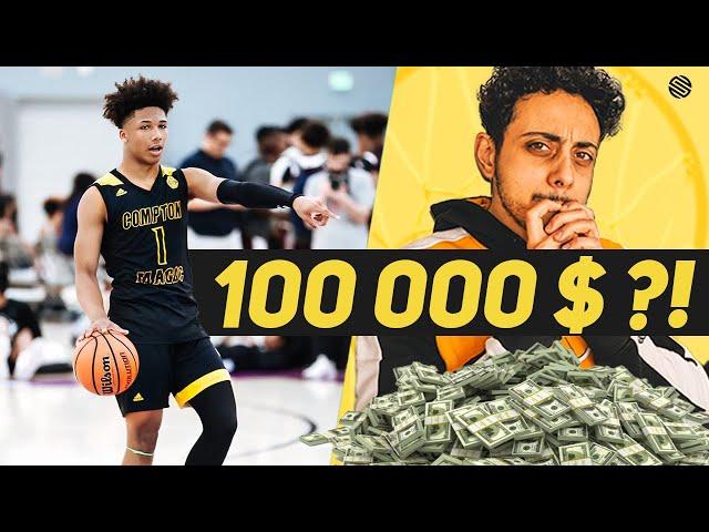 100 000 $ pour les basketteurs de moins de 18 ans ? Cette ligue veut le faire.