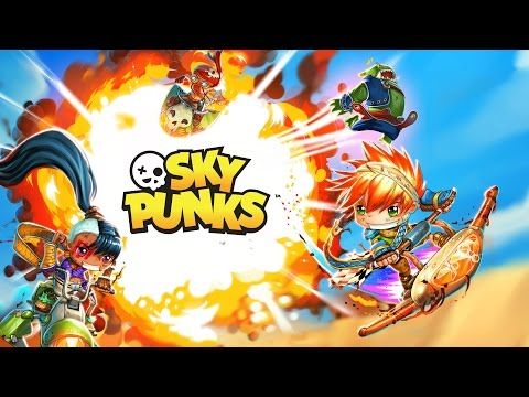 SKY PUNKS OFFICIAL TRAILER - GAME OUT NOW!