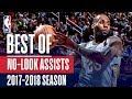 Best No-Look Assists of the 2017-2018 NBA Regular Season