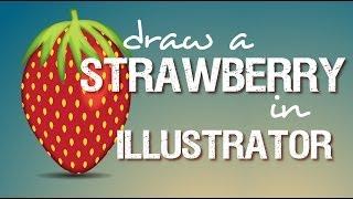 Illustrator - Strawberry Illustration