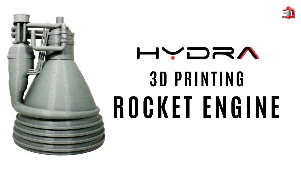 3D Printed Rocket Engine - HYDRA 2019 | 3Ding | 3D Printing