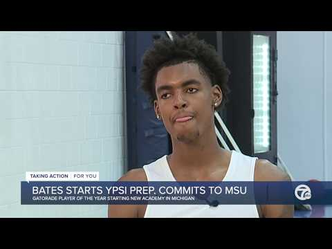 Watch our interview: Emoni Bates committing to Michigan State, creating Ypsi Prep Academy