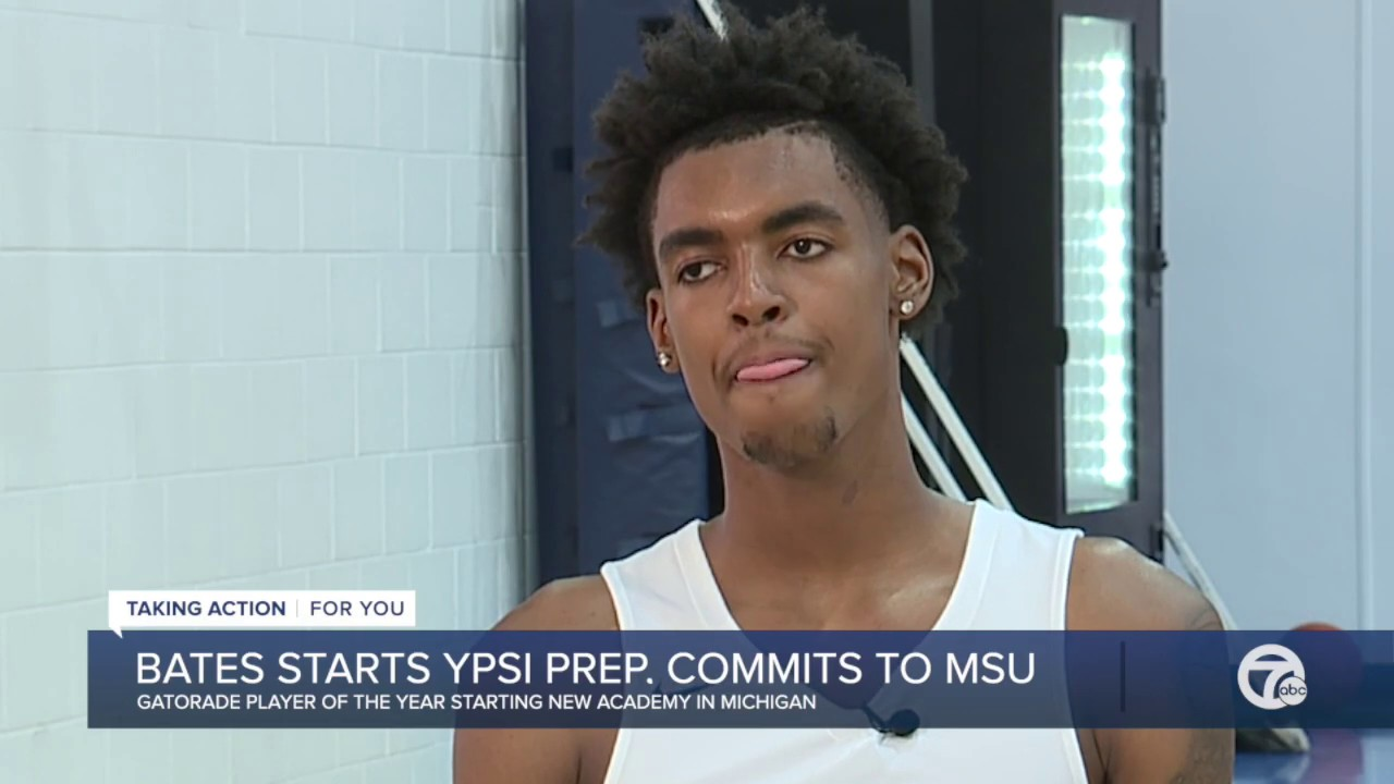Watch our interview: Emoni Bates committing to Michigan State ...