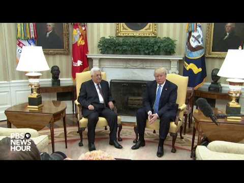 WATCH LIVE: Trump speaks at joint briefing with Palestinian leader Abbas