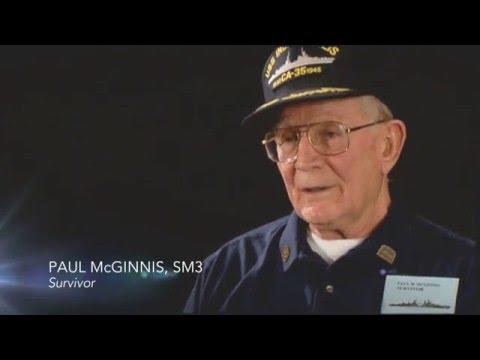 USS Indianapolis Survivor, Paul McGinnis