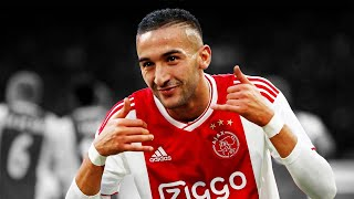 Hakim Ziyech Goals and Skills 2018 - 2019 HD
