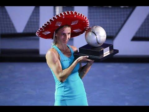 2018 Acapulco Final | Stefanie Voegele vs. Lesia Tsurenko | WTA Highlights
