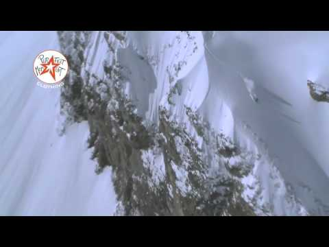 352 feet  ski jump of Fred Syversen on the  Perfect moment /nuit2laglisse film tour