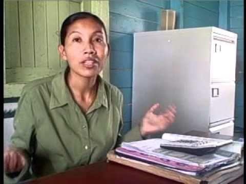 Ms Ingrid Devair, Treasurer of Orealla Village Council, EPTSI funded Project Slice Part 1