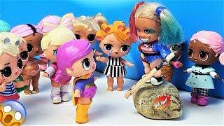 КУКЛЫ ЛОЛ СЮРПРИЗ МУЛЬТИКИ! ВСЕ КУКЛЫ ЛОЛ В РУКАХ ХАРЛИ Мультики #lolsurprise #doll