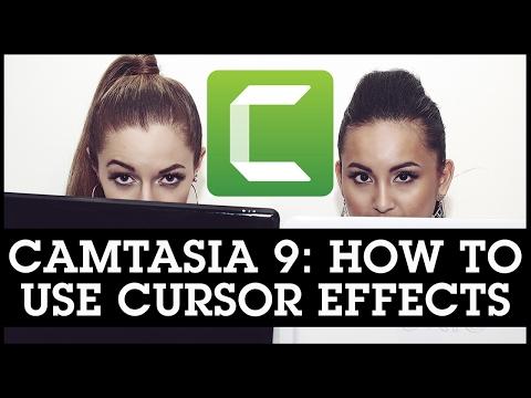 Camtasia 9 Tutorials: How To Use Cursor Effects / Highlight Your Cursor