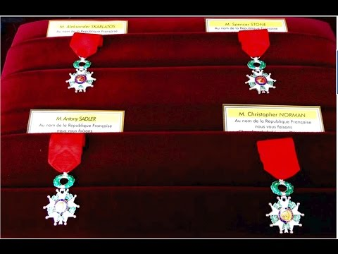 ASMR Honor Award Metals,American Heroes, French Legion of Honor Award Today Soft Read