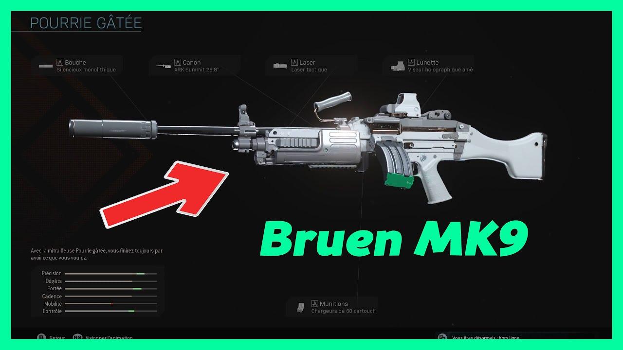 Je remporte la BRUEN MK9 Pourri gatée ! Call of duty Modern Warfare (ft. uh)