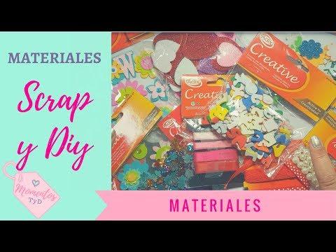 Materiales para scrapbooking Creative algunas alternativas p