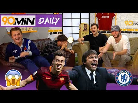 Conte under pressure after 3-0 defeat to Roma!?   Harry Kane to destroy Real Madrid!?   90min Daily